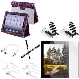 BasAcc BasAcc Case/ Protector/ Stylus/ Splitter/ Headset for Apple iPad 2/ 3/ 4