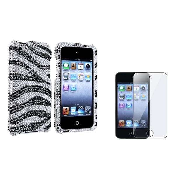 INSTEN Bling iPod Case Cover/ Protector for Apple iPod Touch Generation 4