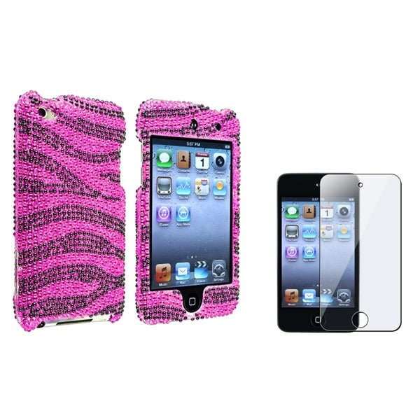 BasAcc Bling Case/ LCD Protector for Apple iPod Touch 4th Generation