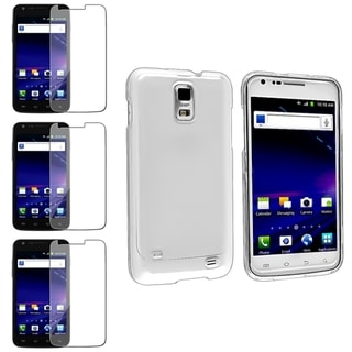 BasAcc Crystal Case/ LCD Protector for Samsung Galaxy S II/ S2 Skyrocket i727