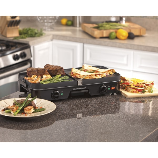 Hamilton Beach 38546 3-in-1 Grill and Griddle