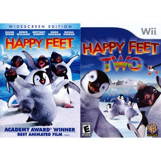 Wii - Happy Feet 2 with Happy Feet DVD