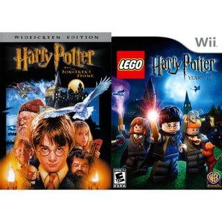 Wii - LEGO Harry Potter: Years 1-4 with Harry Potter and the Sorcerer's Stone DVD