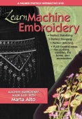 Learn Machine Embroidery: Machine Embroidery Made Easy With Marta Alto (DVD video)