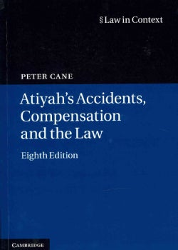 Atiyah's Accidents, Compensation and the Law (Paperback)
