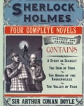 Sherlock Holmes: A Study in Scarlet / the Sign of Four / the Hound of the Baskervilles / the Valley of Fear (Paperback)