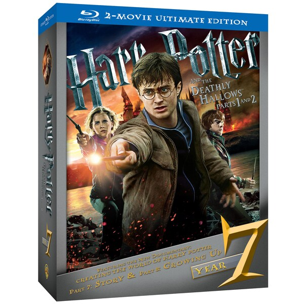 Harry Potter And The Deathly Hallows: Parts 1 And 2 Ultimate Edition (Blu-ray Disc)