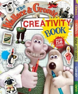The Wallace and Gromit Creativity Book (Spiral bound)