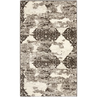 Deco Inspired Beige/ Light Grey Rug (2'6 x 4')
