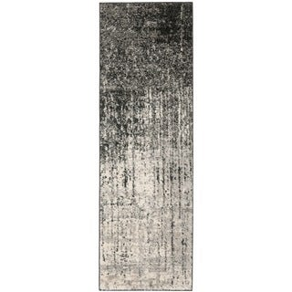 Safavieh Deco Inspired Black/ Grey Rug (2'3 x 7')