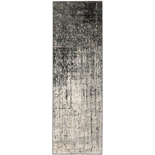 Safavieh Deco Inspired Black/ Grey Rug (2'3 x 7')