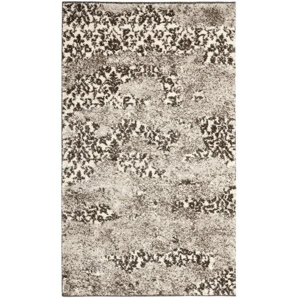 "Safavieh Deco-Inspired Beige/Light Gray Accent Rug (2'6"" x 4')"