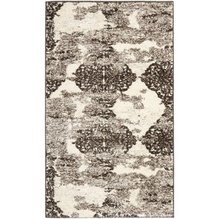 Deco Inspired Beige/ Light Grey Rug (3' x 5')