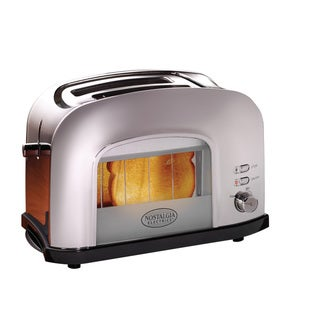 Nostalgia Electrics Chrome Retro Series Window Toaster