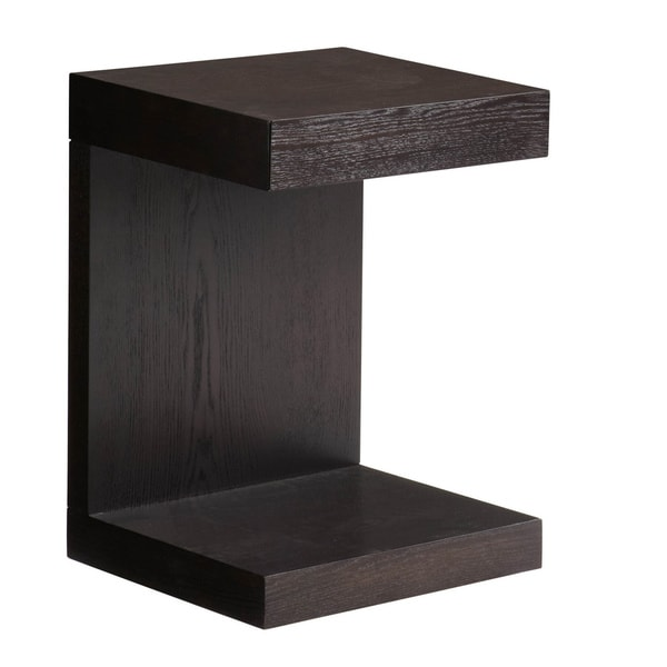 Sunpan 'Ikon' Bachelor Espresso TV Table with Drawer