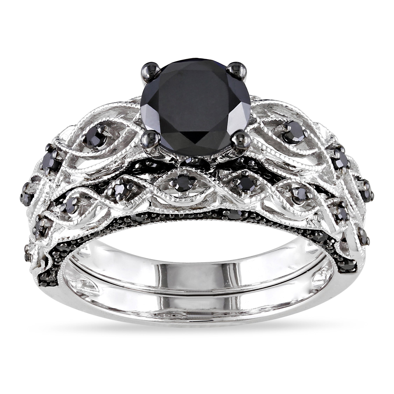 Unique Black Diamond Bridal
