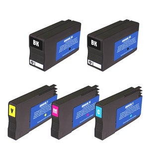 HP 951XL/950XL Black/Colors Ink Cartridge (Pack of 5) (Remanufactured)