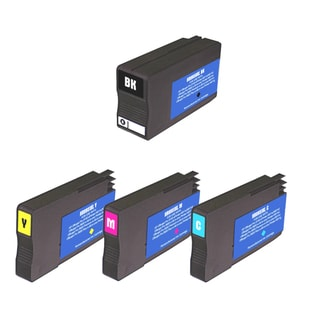 HP 951XL/950XL Black/Colors Ink Cartridge (Pack of 4) (Remanufactured)