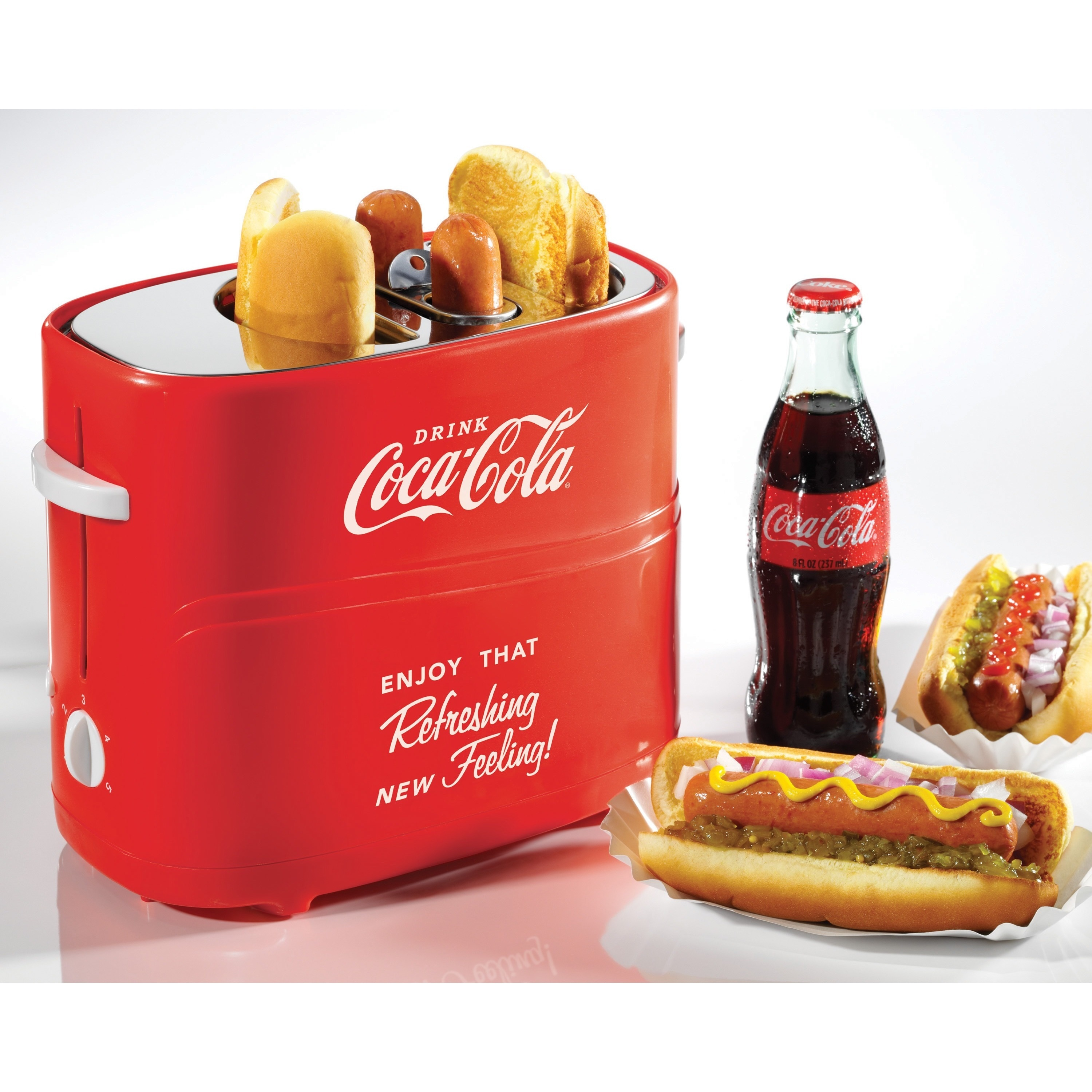 Nostalgia Electrics Coca-Cola Series Pop-Up Hot Dog Toaster at Sears.com