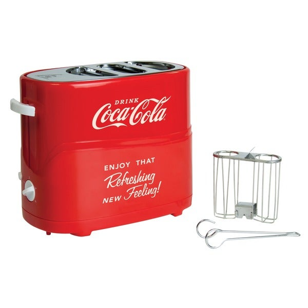 Nostalgia Electrics Coca-Cola Series Pop-Up Hot Dog Toaster