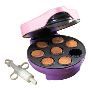 Nostalgia Electrics Cream-Filled Mini Cupcake Maker