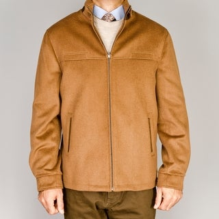 Men's Chesnut Wool/Cashmere Blend Modern Fit Jacket