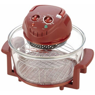 Fagor Halogen Tabletop Oven in Red
