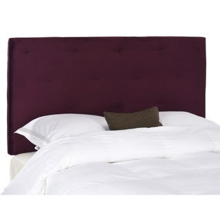 Safavieh Martin Eggplant Purple Full/ Queen Headboard