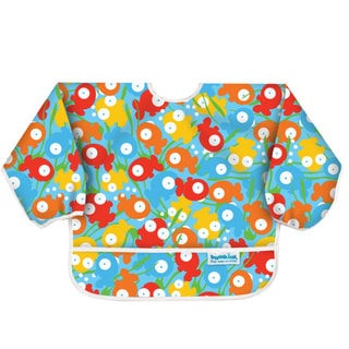 Bumkins Guppies Waterproof Sleeved Bib