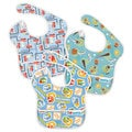 Bumkins Boy Waterproof SuperBib (Pack of 3)