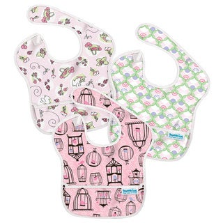 Bumkins Girl Waterproof SuperBib (Pack of 3)