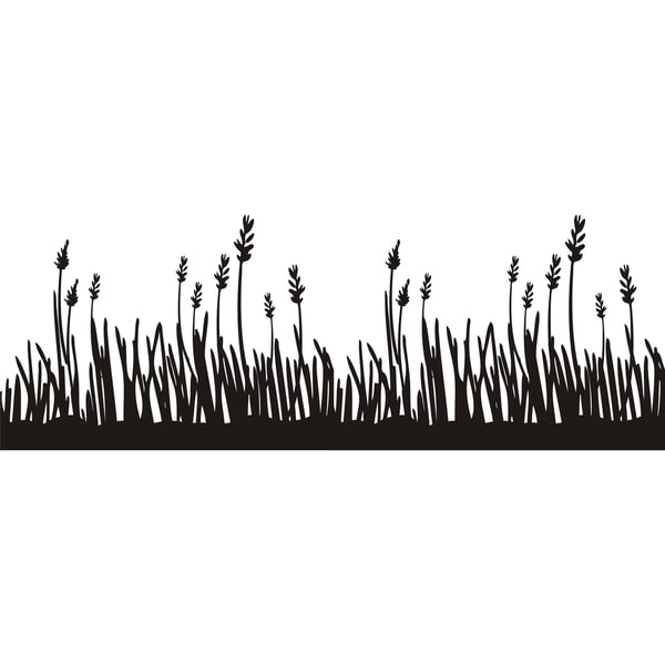Design on Style 'Grass Border' Vinyl Art Quote