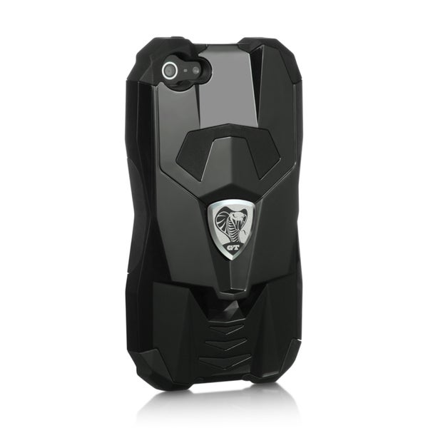 Apple iPhone 5 Fusion Series Cobra GT Hybrid Complete Protection Case (Black)