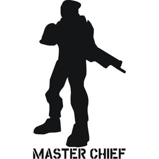 'Master Chief' Vinyl Art Quote