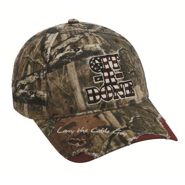Larry The Cable Guy Camo Signature Hat