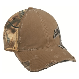 Duck Frayed Camo Patch Adjustable Hat