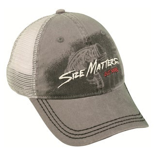 Size Matters Mesh Back Adjustable Hat