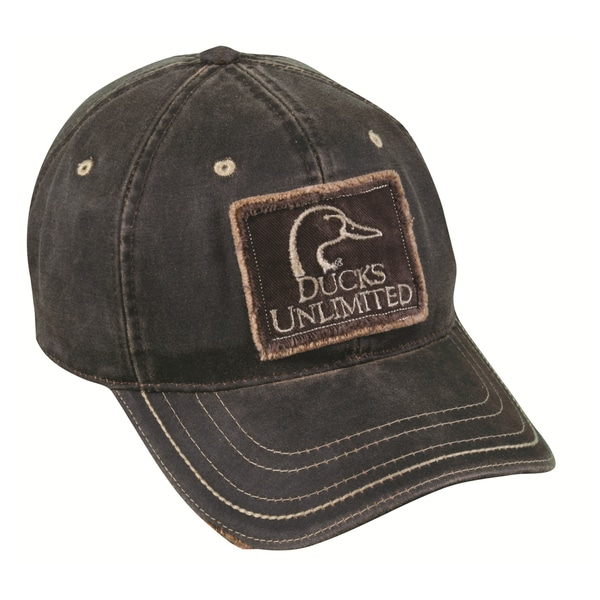 Ducks Unlimited Khaki Adjustable Hat