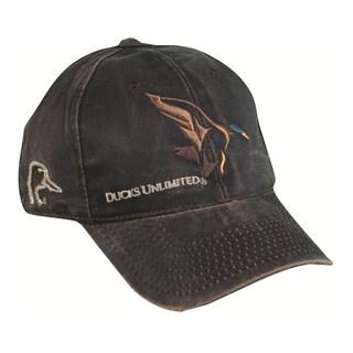 Ducks Unlimited Weathered Cotton Adjustable Hat