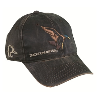 Ducks Unlimited Weathered Cotton Adjustable Hat