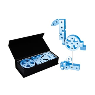 Playable Metal 'Zodiac' Model J Blue Figure