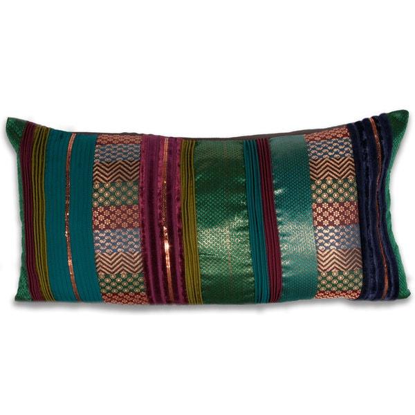 Marlo Lorenz Lia Brocade 24-inch Decorative Pillow