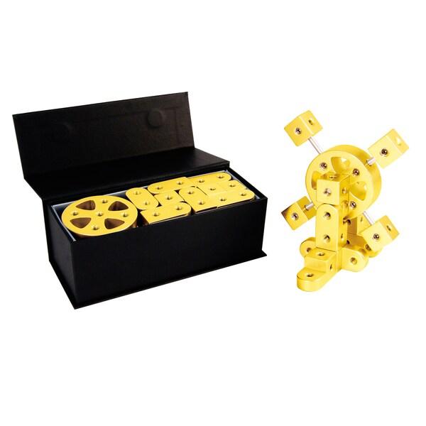 Playable Metal 'Infinity' Model S Yellow Gold Figure