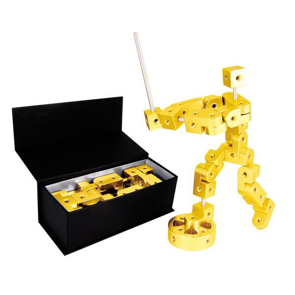 Playable Metal 'Pose' Model P Yellow Gold Figure