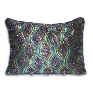 Marlo Lorenz Fabiana Sequins 16-inch Decorative Pillow