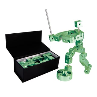 Playable Metal 'Pose' Model P Green Figure