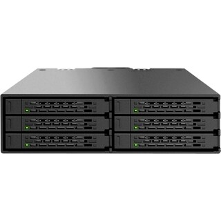 Icy Dock MB996SP-6SB DAS Array - 6 x HDD Supported - 6 x SSD Supporte