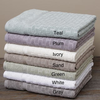 Cobblestone Textured Cotton 10-piece Towel Set