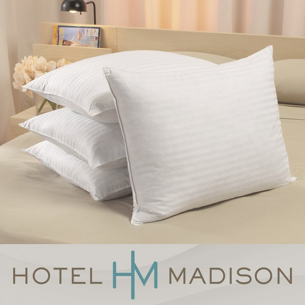 Hotel Madison Deluxe Microfeather Pillows (Set of 4)