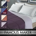 Famous Maker Reversible Colored Down Comforter